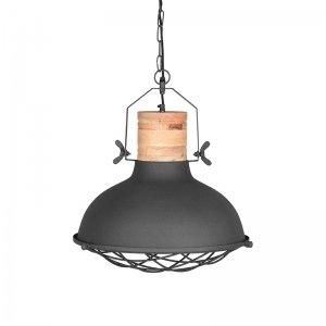 Hanglamp Grid - 34 cm - Bruin