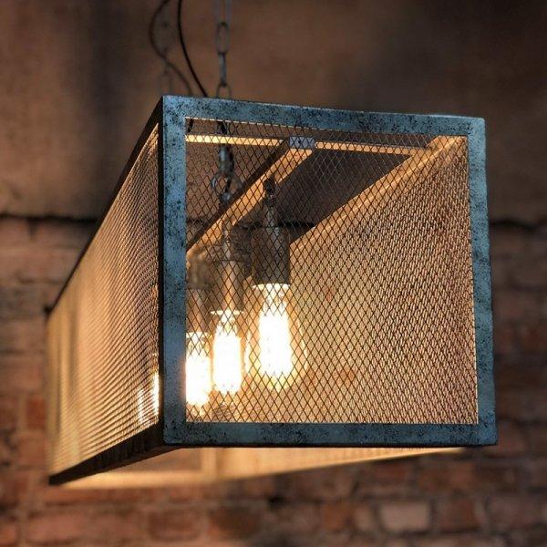 Hanglamp Lansdale - 4L - Grijs