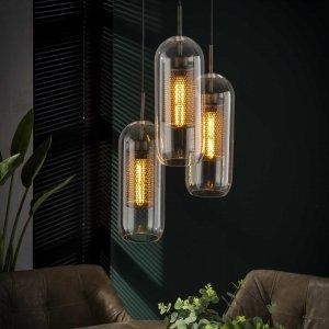 Hanglamp Lecco - 3L - Transparant