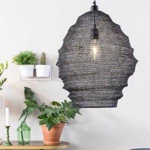 Hanglamp Lena - L - Zwart