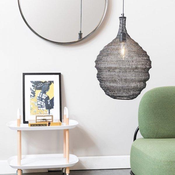 Hanglamp Lena - M - Zwart