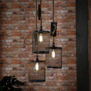 Hanglamp Melanie - Tripel - Grijs