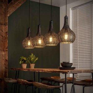 Hanglamp Melissa - 4L - Bruin