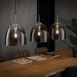 Hanglamp Pula - 3L - Transparant
