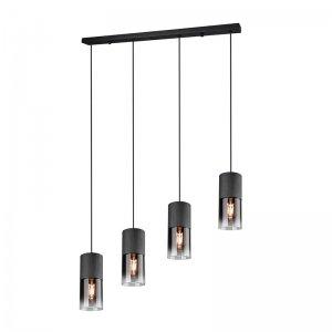 Hanglamp Robin - Metaal - Zwart Mat