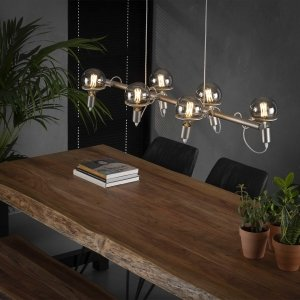 Hanglamp Roselle - 6L - Grijs