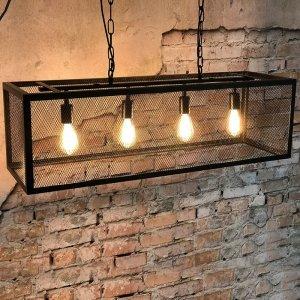 Hanglamp Scranton - 4L - Zwart