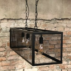 Hanglamp Scranton - 5L - Zwart