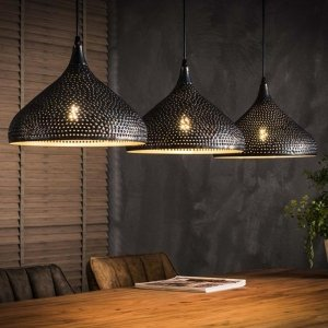 Hanglamp Tufo - 3L - Bruin