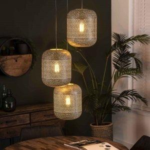 Hanglamp Vasto - 3L Trap - Grijs