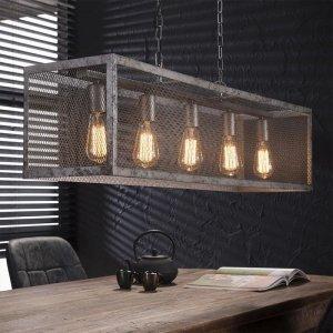 Hanglamp Xem - 5 Lichts - Grijs