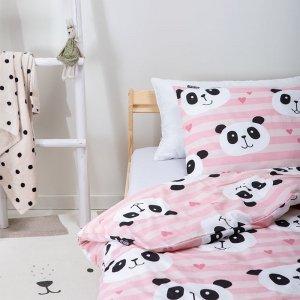 Happy Panda - Roze