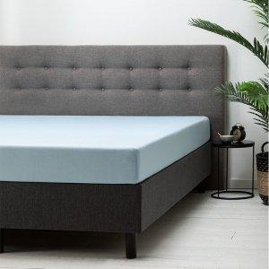 Hoeslaken Katoen - Lichtblauw - Blauw - 140 x 200