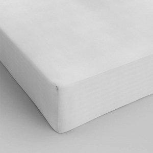 Hoeslaken Katoen - Wit - 140 x 200