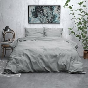 Jason - Verwarmend Flanel - Grijs - 200 x 200