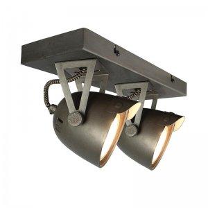 Led Spot Cap - 2-Lichts - Grijs