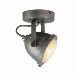 Led Spot Moto - 1-Lichts - Grijs