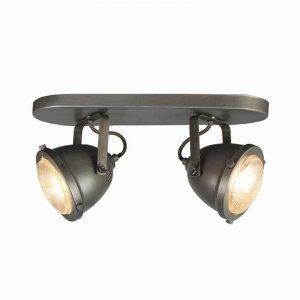 Led Spot Moto - 2-Lichts - Grijs