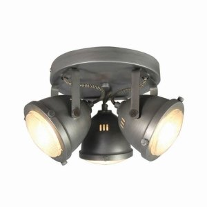 Led Spot Moto - 3-Lichts - Grijs