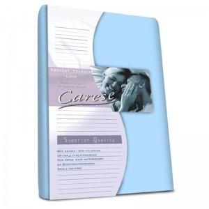 Luxe Badstof Hoeslaken - Stretch - Blauw - 90 x 200
