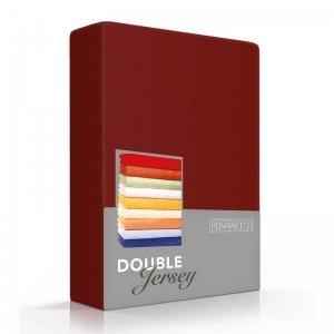 Luxe Dubbel Jersey Hoeslaken - Bordeaux - Rood - 180 x 200