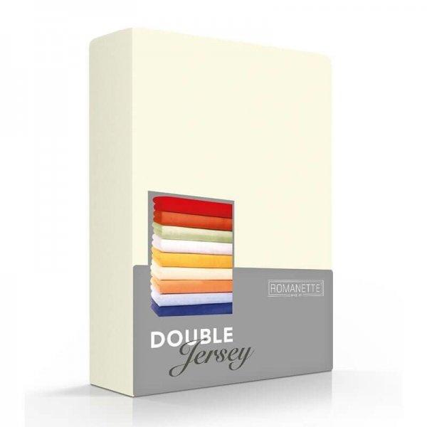 Luxe Dubbel Jersey Hoeslaken - Ivoor - Creme - 100 x 200