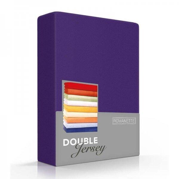 Luxe Dubbel Jersey Hoeslaken - Paars - 100 x 200