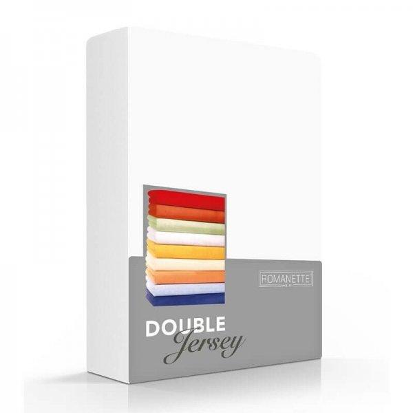 Luxe Dubbel Jersey Hoeslaken - Wit - 100 x 200