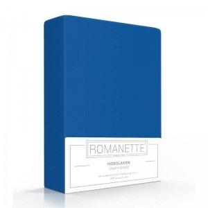 Luxe Hoeslaken Katoen - Kobalt - Blauw - 180 x 200