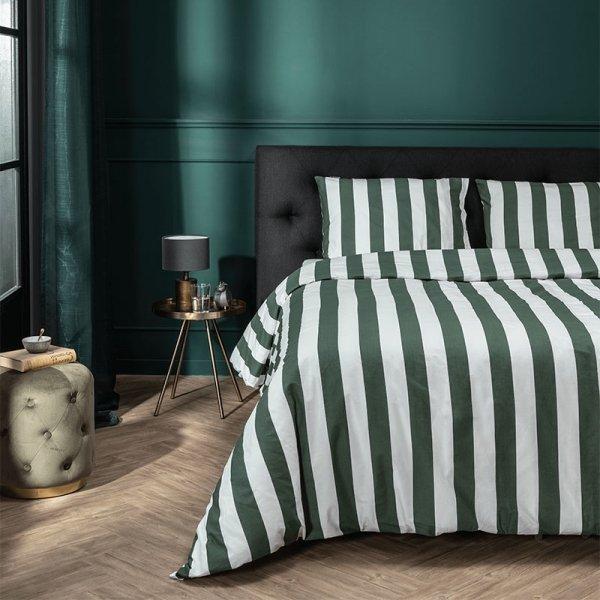 Multiple Stripes - Groen - 200 x 220