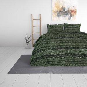Olive Knits - Groen - 140 x 220