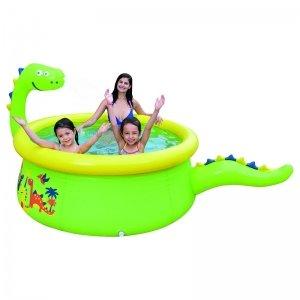 Opblaasbaar Zwembad - Dino - Groen
