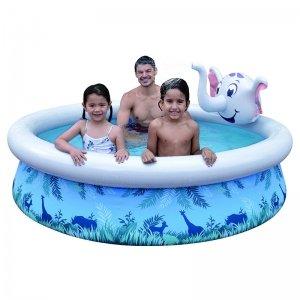 Opblaasbaar Zwembad - Olifant - Blauw