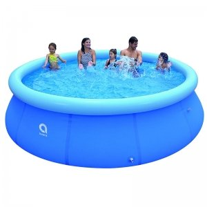 Opblaasbaar Zwembad - Rond - Blauw