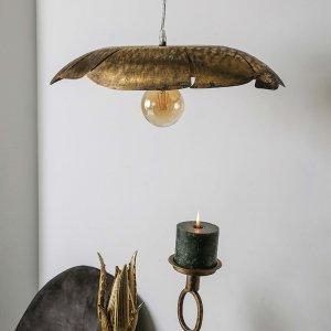Plafondlamp Metal Leaf - Goud