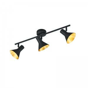 Plafondlamp Nina - Metaal - 3 Lichtbronnen - Zwart