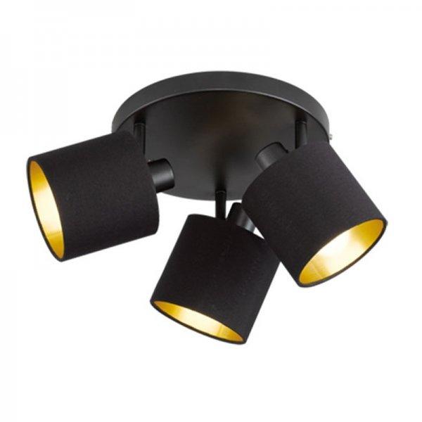 Plafondlamp Tommy - Zwart