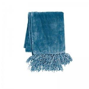 Plaid - Fluffy - Blauw