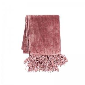 Plaid - Fluffy - Koraal - Roze