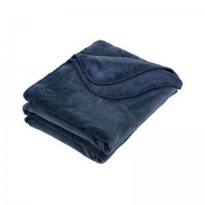 Plaid - Fluweel - Blauw