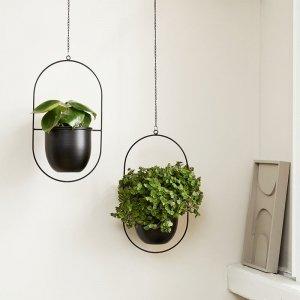 Plantenhanger Tess - Set van 2 - Wit