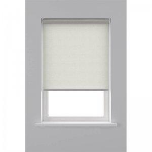 Rolgordijn Lichtdoorlatend - Ecru - Wit - 90 x 190