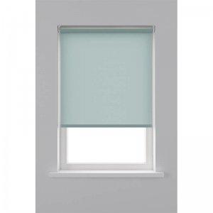 Rolgordijn Lichtdoorlatend - Licht Blauw - 90 x 190