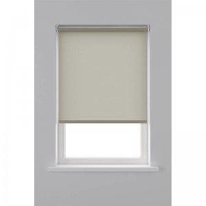 Rolgordijn Lichtdoorlatend - Licht Bruin - 90 x 190