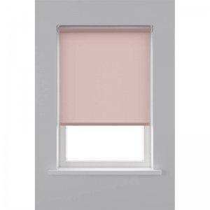 Rolgordijn Lichtdoorlatend - Licht Roze - 150 x 190