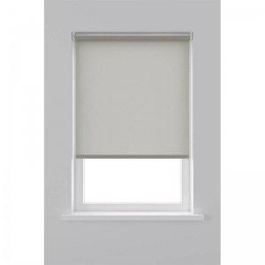 Rolgordijn Lichtdoorlatend Structuur - Licht Grijs - 90 x 190
