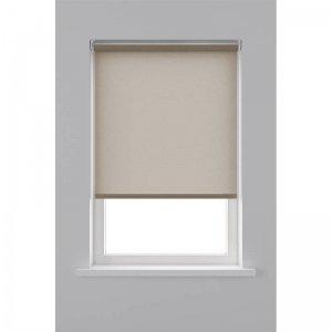 Rolgordijn Lichtdoorlatend Structuur - Zand - 150 x 190