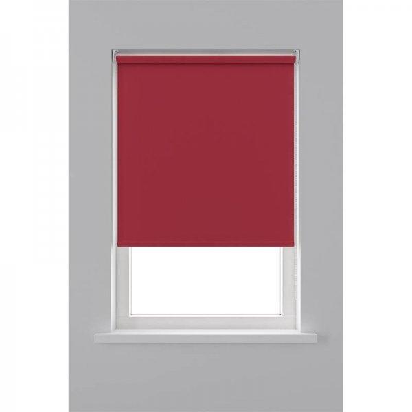 Rolgordijn Verduisterend - Rood - 90 x 190