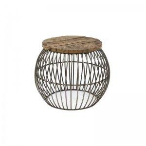 Salontafel Wire - 46 cm - Bruin