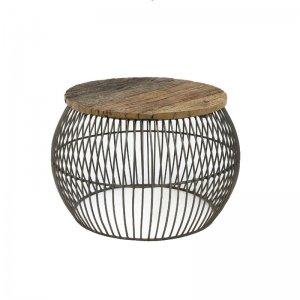 Salontafel Wire - 64 cm - Bruin